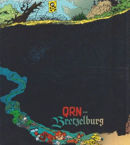 FRANQUIN Spirou. Volume 18: QRN on Pretzelburg. Deluxe complete edition, with du…