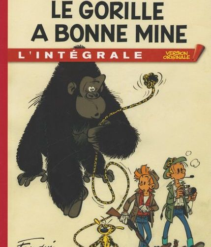 FRANQUIN Spirou and Fantasio. Complete Original Version 4: The gorilla looks goo…