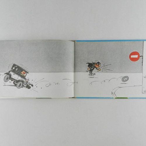 FRANQUIN Gaston. Volume 1: Beware of blunders. Eo of 1966. Grey round back in ex…