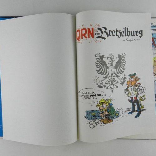 FRANQUIN Spirou and Fantasio. Volume 18: QRN on Pretzelburg. Eo of 1966, crumple…