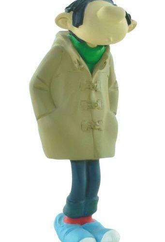 FRANQUIN Gaston. Creation Leblon Delienne (1994). Gaston Lagaffe in duffle coat.…
