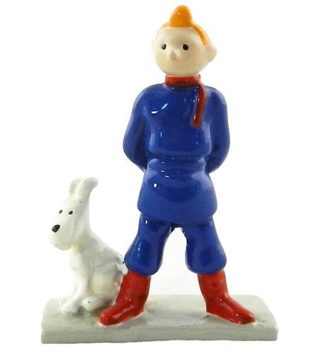 HERGÉ Tintin. Creation Pixi (1995). Tintin Soviet, Mini series. Reference 2105. …