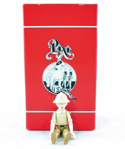 HERGÉ Tintin. Creation Pixi (1993). Tintin in Congo. Articulated Collection. Ref…