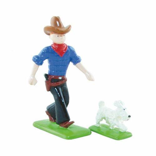 HERGÉ Tintin. Creation Pixi (1992). Tintin in America, Tintin as a cowboy with S…