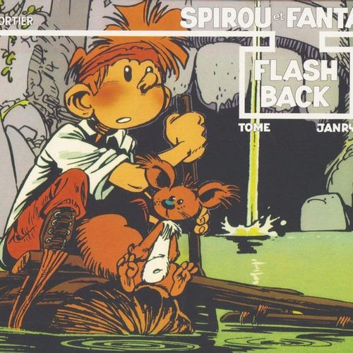 JANRY Spirou. Flash back. Head print 750 ex. N°/S by Janry. Head to tail' album …