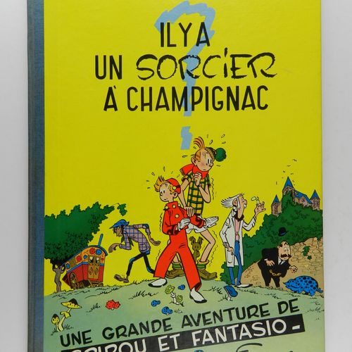 FRANQUIN Spirou and Fantasio. Volume 2: There is a wizard in Champignac. 2nd edi…