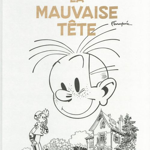 FRANQUIN Spirou and Fantasio. Complete Original Version: The bad head. Edition 2…