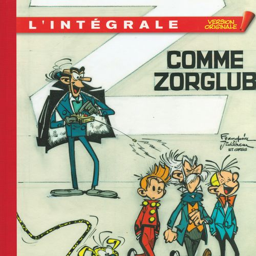 FRANQUIN Spirou and Fantasio. Complete Original Version 5: Z as Zorglub. Edition…