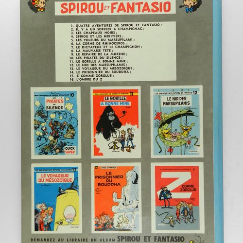 FRANQUIN Spirou and Fantasio. Volume 8: The bad head. Edition of 1964, first edi…