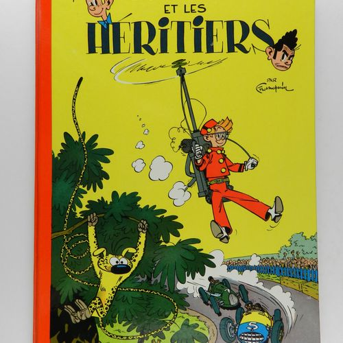 FRANQUIN Spirou and Fantasio. Volume 4: Spirou and the heirs. 1965 edition (Dupu…