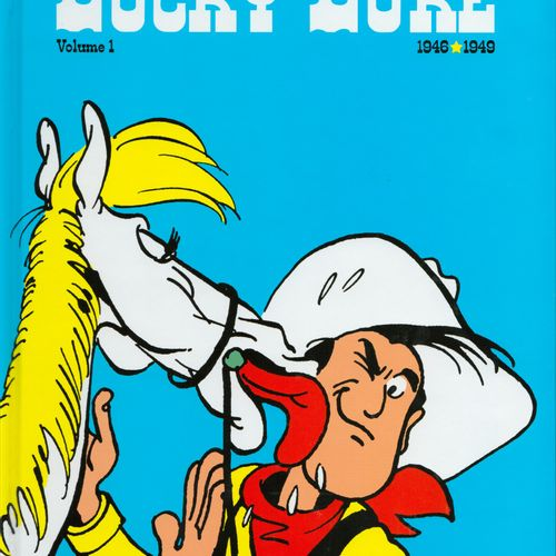 MORRIS Lucky Luke. Lot of volumes 1 to 15 + 24 of the complete set. New conditio…