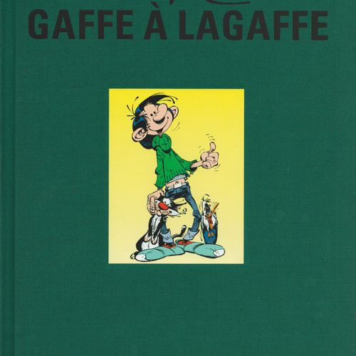 FRANQUIN Gaston. Volume 15: Gaffe à Lagaffe. First edition 800 copies. With sign…