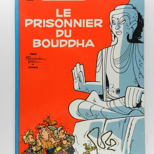 FRANQUIN Spirou and Fantasio. Volume 14: The prisoner of the Buddha. Edition of …