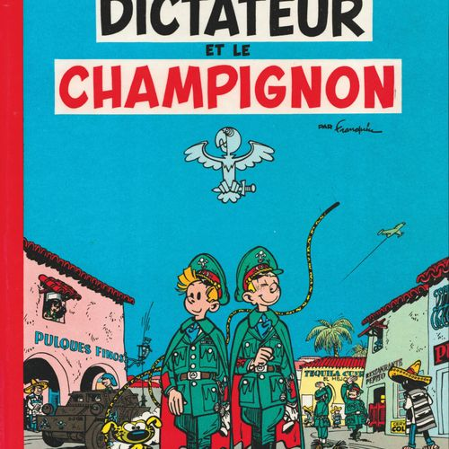 FRANQUIN Spirou and Fantasio. Volume 7: The dictator and the mushroom. Edition o…