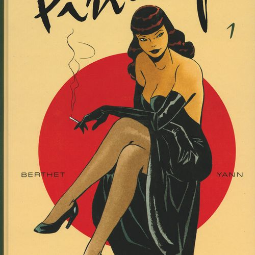 BERTHET Pin up. Lot of volumes 1 to 9. All are in Eo. Small writing in volume 2.…