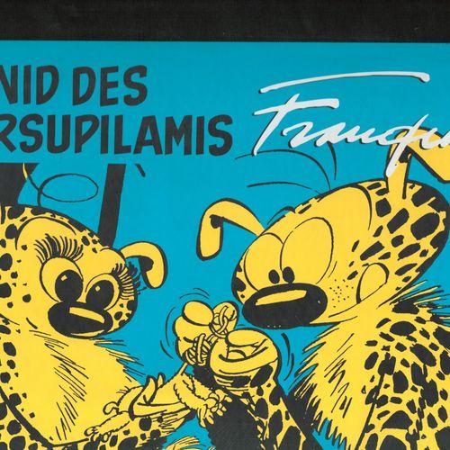 FRANQUIN Marsupilami. Portfolio Le nid des marsupilamis. Edition 400 ex. Authent…