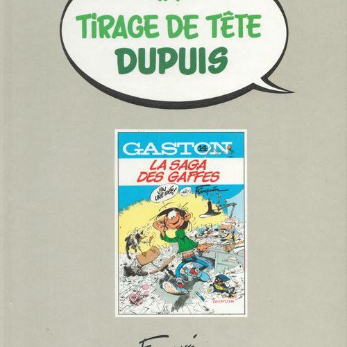 FRANQUIN Gaston. Volume 14: La saga des gaffes. First edition 6000 copies. N°/S.…