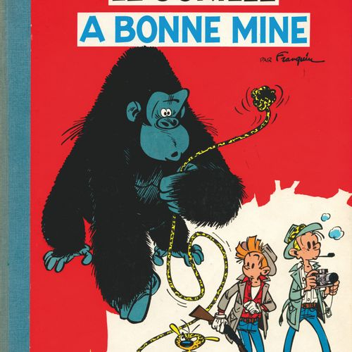 FRANQUIN Spirou and Fantasio. Volume 11: The gorilla looks good. Belgian eo from…