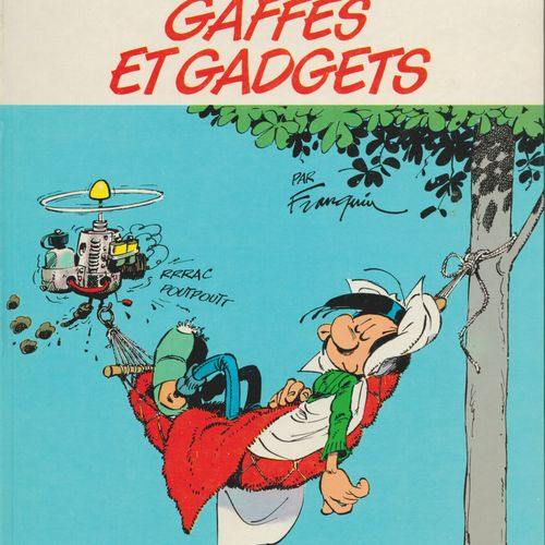 FRANQUIN Gaston. Volume 0: Gaffes and gadgets. First edition 1000 copies, N°/S. …