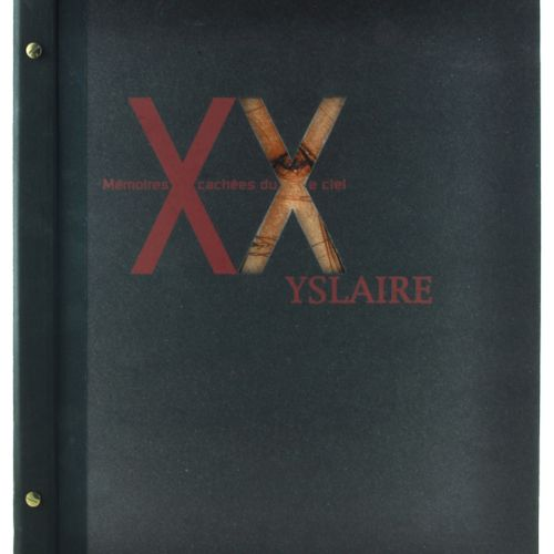 YSLAIRE Yslaire. Portfolio Hidden memories of the XXth sky. Edition 30 ex. HC N°…