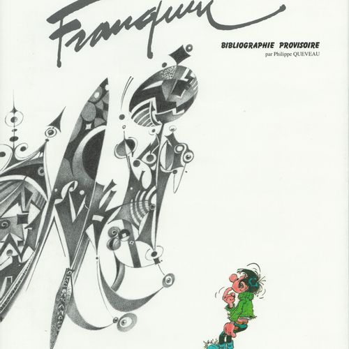 FRANQUIN Almost all Franquin. First edition of 1000 numbered copies. Fully cloth…