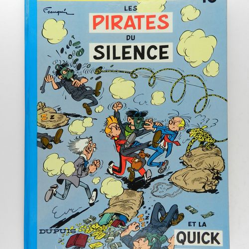 FRANQUIN Spirou and Fantasio. Volume 10: Les pirates du silence. Edition of 1964…