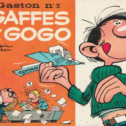 FRANQUIN Gaston. Volume 3: Gaffes galore. Eo of 1964. Round red spine in very go…