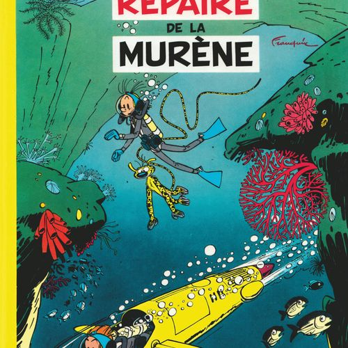 FRANQUIN Spirou and Fantasio. Volume 9: Le repaire de la Murène. 1965 edition (D…