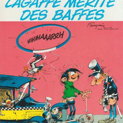FRANQUIN Gaston. Volume 13: Lagaffe deserves some slaps. Deluxe edition 1800 cop…