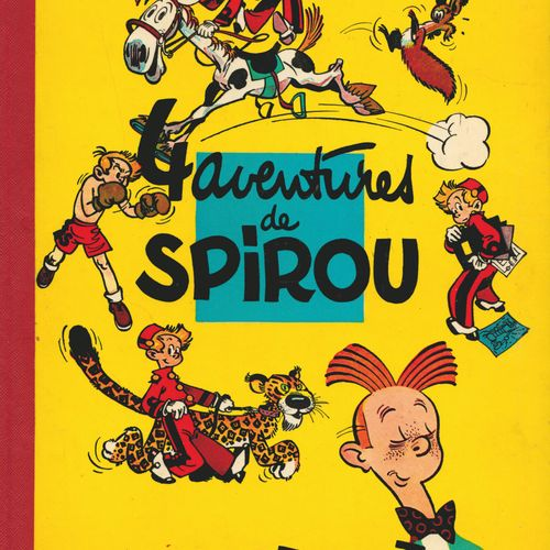 FRANQUIN Spirou and Fantasio. Volume 1: 4 adventures of Spirou and Fantasio. Fre…