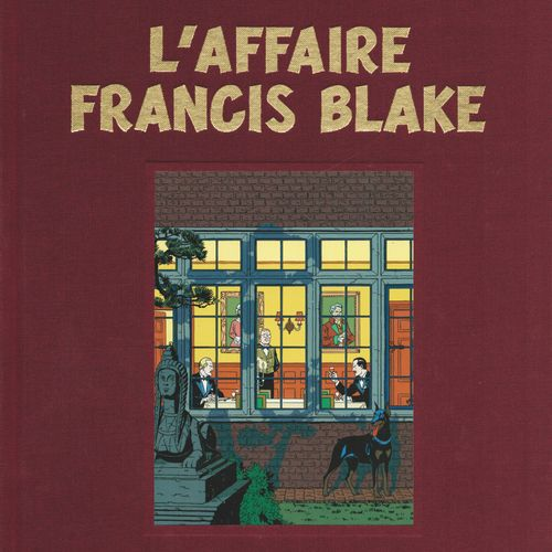 JACOBS Blake and Mortimer. Volume 13: The case Francis Blake. First edition 450 …