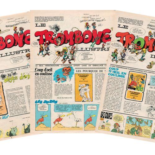 FRANQUIN Trombone illustré. Complete set of the 30 issues of the famous undergro…