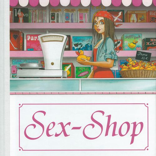 TURF Sex shop. First edition 110 copies. N°/S by Turf. Cover with the original t…