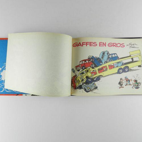 FRANQUIN Gaston. Volume 4: Wholesale blunders. Eo of 1965. Round blue spine in v…