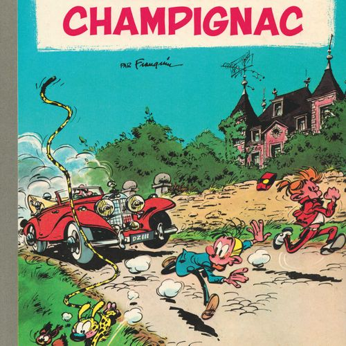 FRANQUIN Spirou and Fantasio. Volume 19: Panade à Champignac. Eo of 1969 (Dupuis…