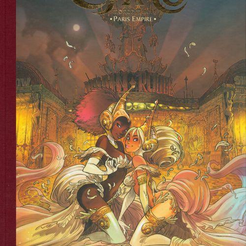 BARBUCCI Ekhö, mirror world. Volume 2: Paris Empire. First edition 450 copies. N…
