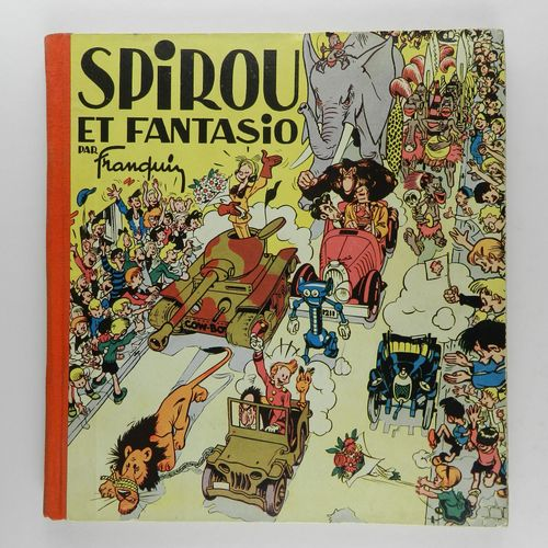 FRANQUIN Spirou and Fantasio. (Franquin). Eo of 1948 (Dupuis). Square edition, o…
