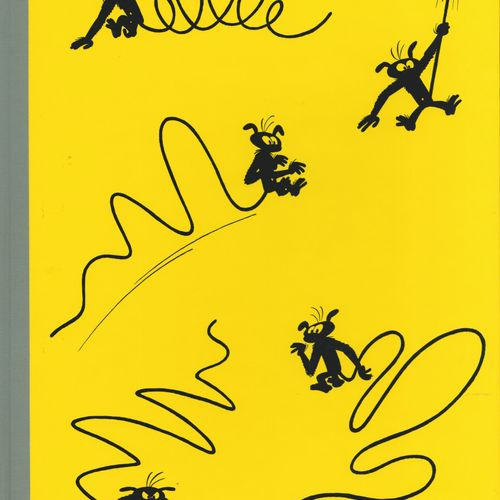 FRANQUIN Spirou and Fantasio. Volume 12: Le nid des marsupilamis. First edition …