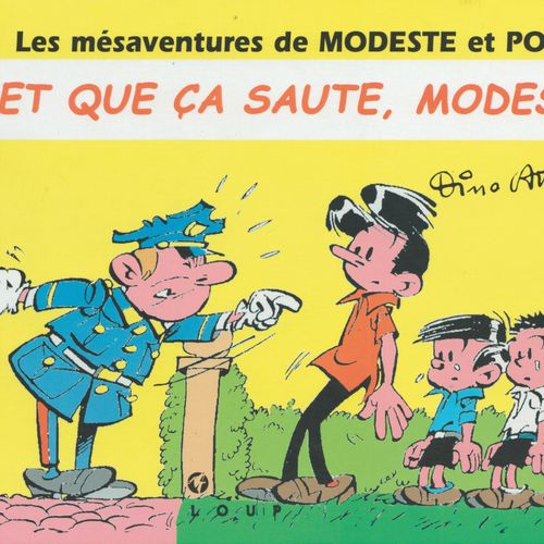 ATTANASIO Modeste and Pompon. And that it jumps, Modeste! First edition 250 copi…