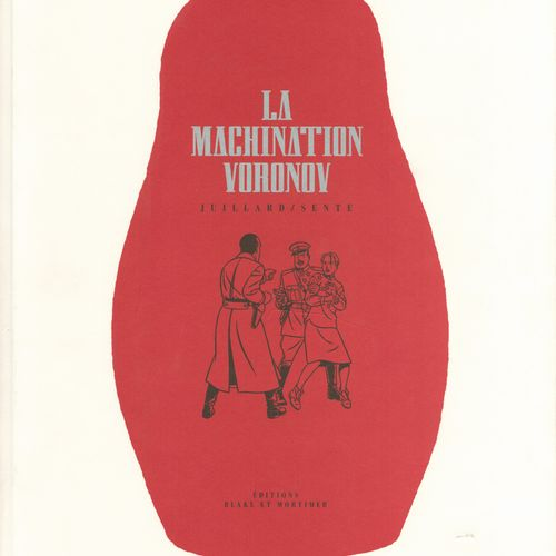 JACOBS Blake and Mortimer. Volume 14: La machination Voronov. First edition 50 c…