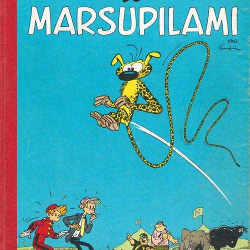 FRANQUIN Spirou and Fantasio. Volume 5: Les voleurs du marsupilami. Belgian eo f…