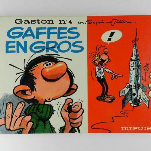 FRANQUIN Gaston. Volume 4: Wholesale blunders. Eo of 1965 (Dupuis). Round back, …