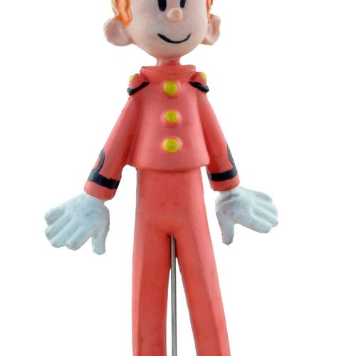 FRANQUIN Spirou. Spirou soft vinyl figure. Made in the early 60's by Mirim Toys.…