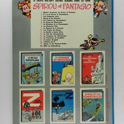 FRANQUIN Spirou and Fantasio. Volume 18: QRN on Bretzelburg. Eo of 1966 (Dupuis)…