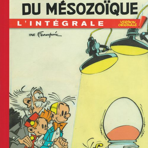 FRANQUIN Spirou and Fantasio. Complete Original Version 4: The traveller of the …