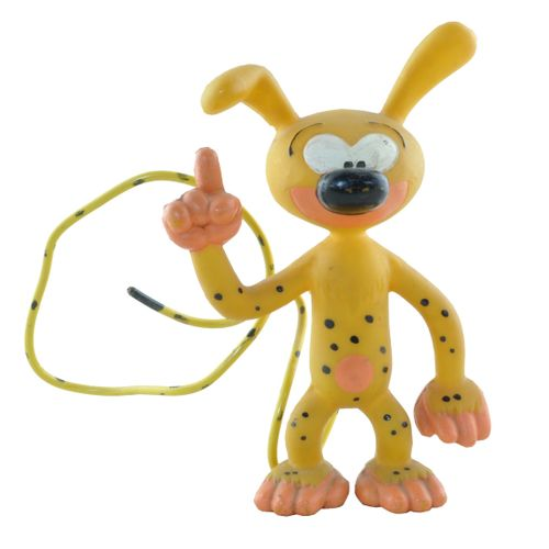 FRANQUIN Marsupilami. Soft vinyl figure of the marsupilami. Made in the 60's. Th…