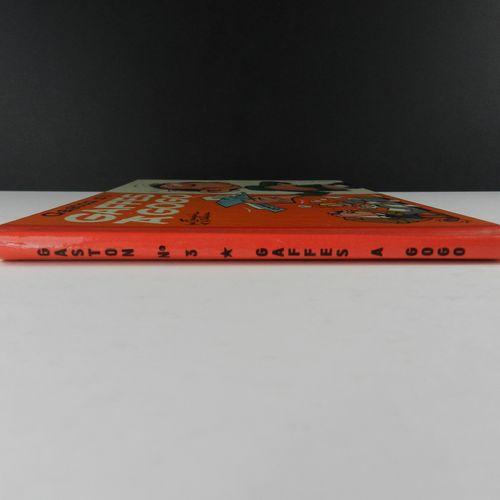 FRANQUIN Gaston. Volume 3: Gaffes galore. Eo of 1964 (Dupuis). Round back, Itali…