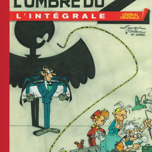 FRANQUIN Spirou and Fantasio. Complete Original Version 6: L'ombre du Z. Edition…