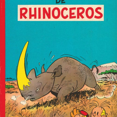 FRANQUIN Spirou and Fantasio. Volume 6: The rhinoceros horn. French eo from 1955…