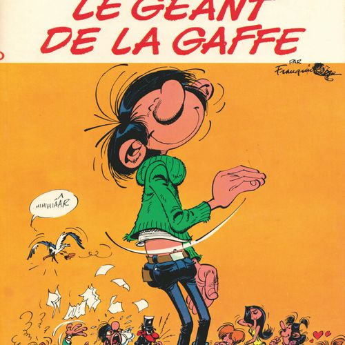 FRANQUIN Gaston. Volume 10: The giant of the blunder. Eo of 1972 (Dupuis). Round…